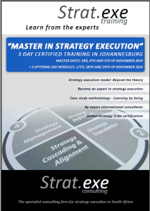 """MASTER IN STRATEGY EXECUTION"""